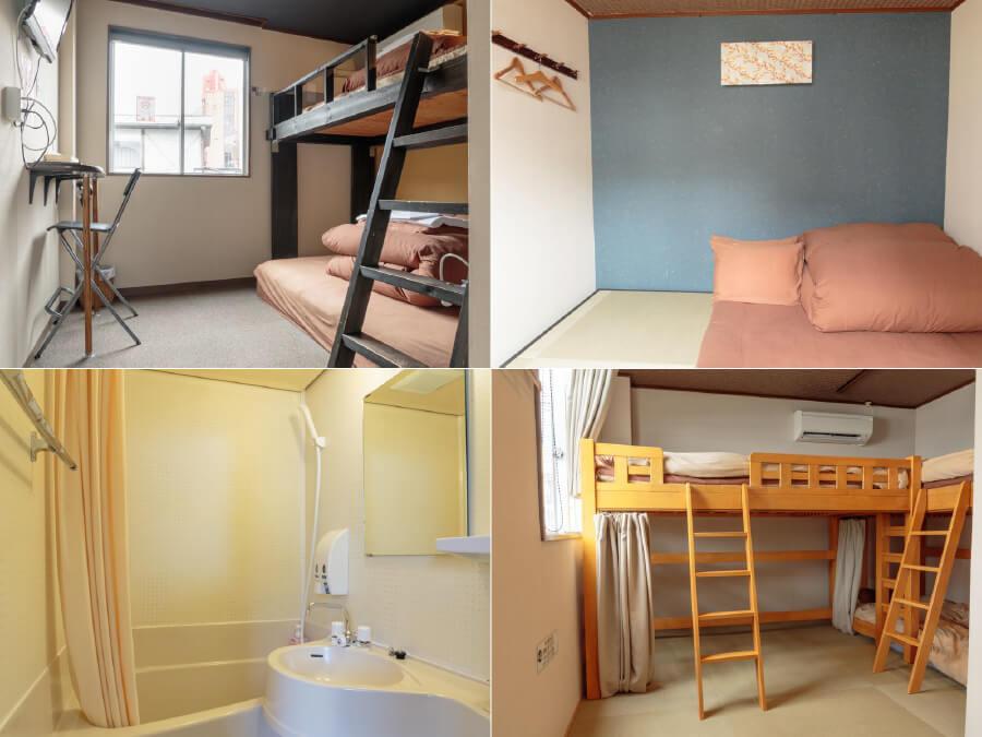 福岡のゲストハウス 個室が安い